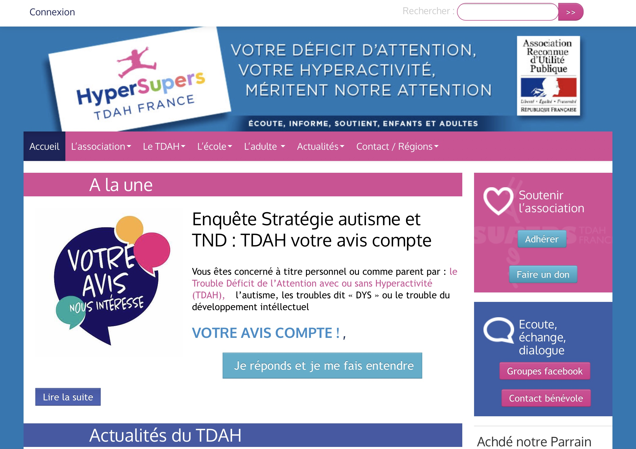 Site Web HyperSupers