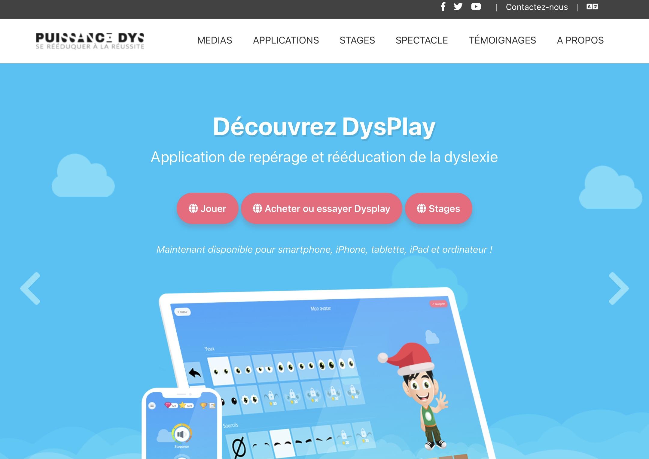 Site Web Puissance DYS
