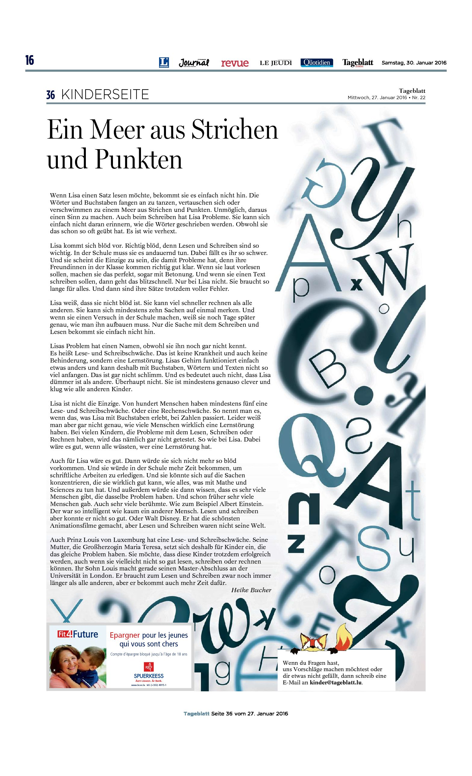 Tageblatt_Ein-Meer-aus-Strichen-und-Punkten_27-01-2016-pdf